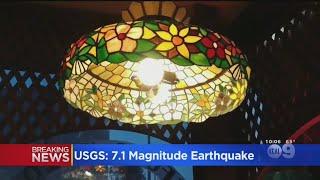 Lights, Camera, Shaking: A Look At The 7.1 Quake Through Social Media