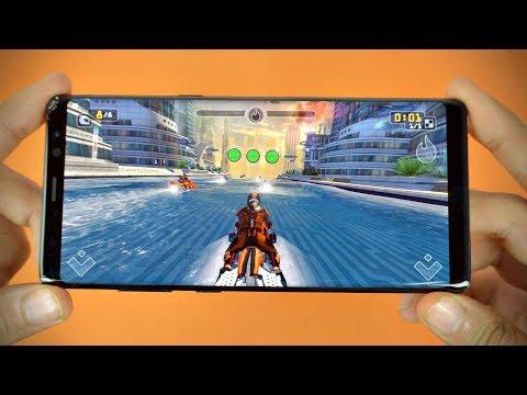 Samsung Galaxy Note 8 Gaming Review! (4K)