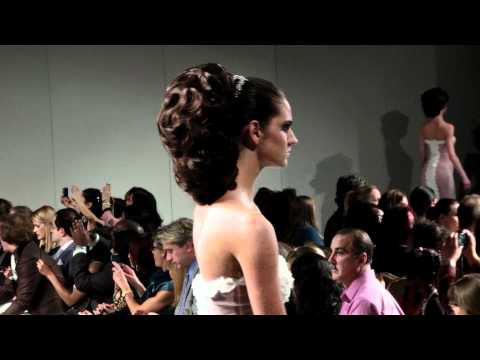 Elie Esper presenting his Hair Coutre collection at The Waldorf-Astoria NYC