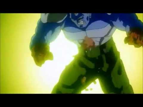 Spirit Bomb Absorbed SSJ Goku Vs Super Android 13 (Original Japanese)
