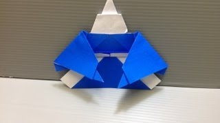 Daily Origami: 124 - Japanese Man