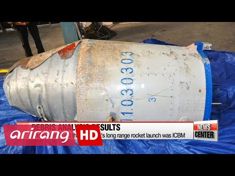 Analysis of debris shows N. Korea's Feb. rocket launch was not for satellite: Defense Ministry;...