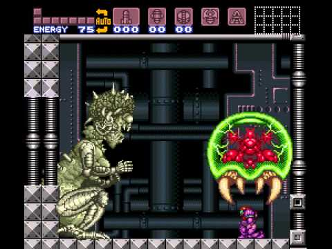 Super Metroid - Metroid Sacrifice - Vizzed RGR Plugin - User video
