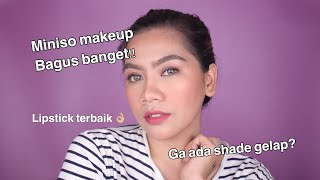 Full Face of MINISO MAKEUP (First Impression)   Jihan Putri