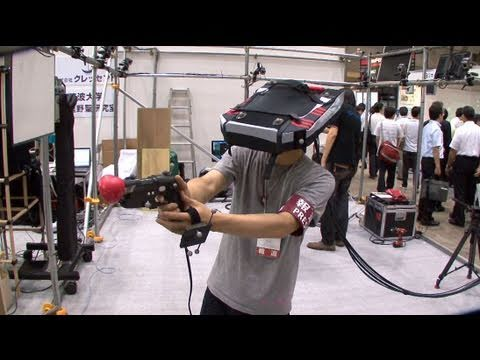 Immersive entertainment VR System #DigInfo