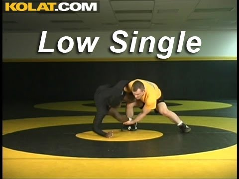 Low Single Finish KOLAT.COM Wrestling Techniques Moves Instruction Image 1