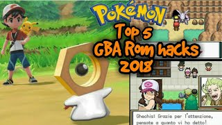 Top 5 Pokémon GBA ROM Hacks with Z-Move, Mega Evolution and New Story! (2500 Subs Special)