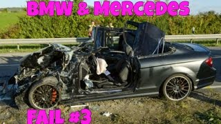 8 Minutes BMW and MERCEDES BENZ Crash Compilation - Stupid Accident X6 E36 E30 X5 ML C CL AMG M