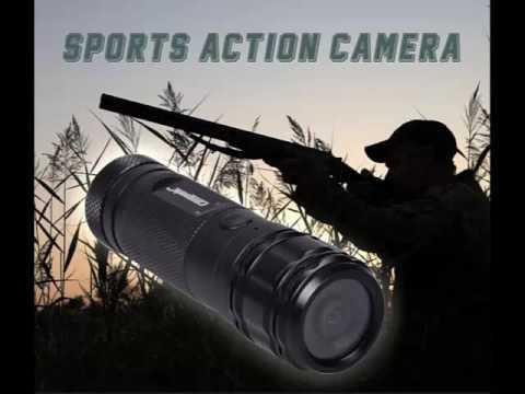 waterproof outdoor gun cam camcorder hunting rifle camera
