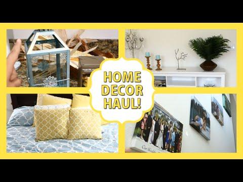 Home Decor Haul! HomeGoods, Target, Pier1 Imports