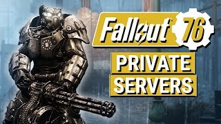 FALLOUT 76: Bethesda Says Private Worlds and Mods Coming Way in the Future!! (Private Servers)