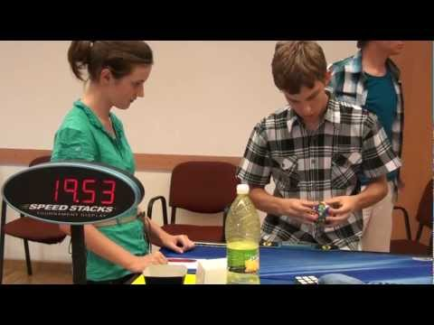 Megaminx WORLD RECORD Average (47.82)