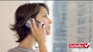 Self-Employment Tax Deductions on Cell Phones - TurboTax Tax Tip Video