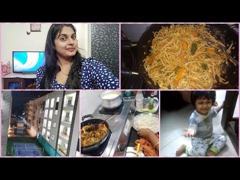 Woh Kaun Hai ? || 15 mins Dinner Routine  /Chinese Dinner || Blossoms Of Happiness