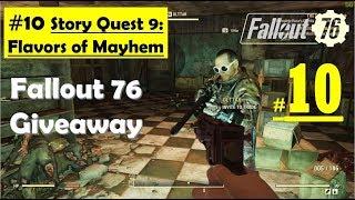 Fallout 76 - Flavors of Mayhem   Karma Syringe, Make Friends, Explosive Bait