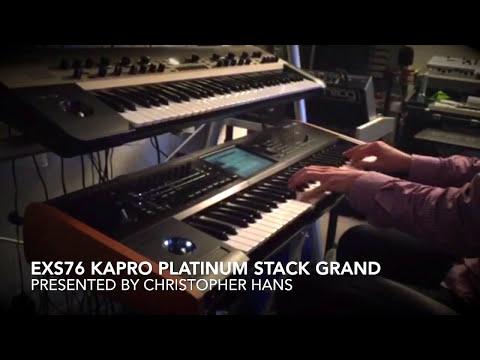 KApro EXs76 Platinum Stack Grand (KORG Kronos) presented by Christopher Hans #1