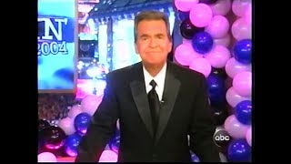 Dick Clark's Last New Year's Rockin' Eve Before Stroke - Dec. 31, 2003