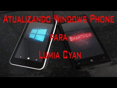 Atualizando Windows Phone para Lumia Cyan