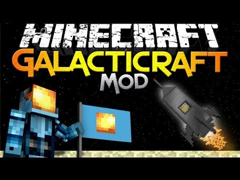 Minecraft Mod Showcase: Galacticraft - Launch to the Moon in Minecraft!