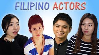 Download Lagu KOREAN GIRLS REACT TO PINOY (FILIPINO) ACTORS Gratis STAFABAND
