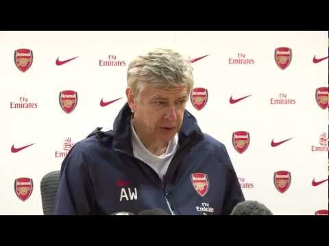 Press conference pre-Wolves - Wenger - Arsenal FC