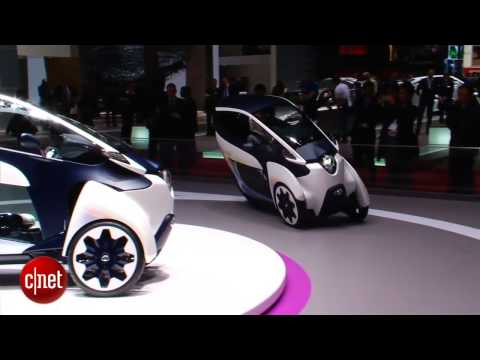 Car Tech - Toyota i-Road Concept