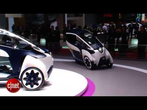 Car Tech - Toyota i-Road Concept