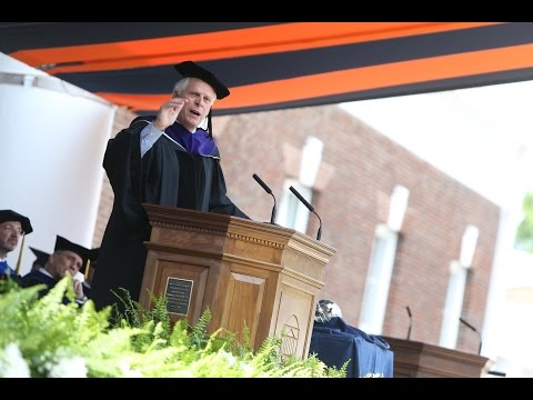 Virginia's Governor Congratulates UVA Graduates