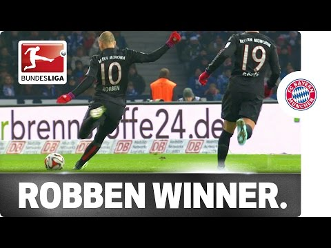 Robben's Golden Left Foot – Winning Strike against Berlin