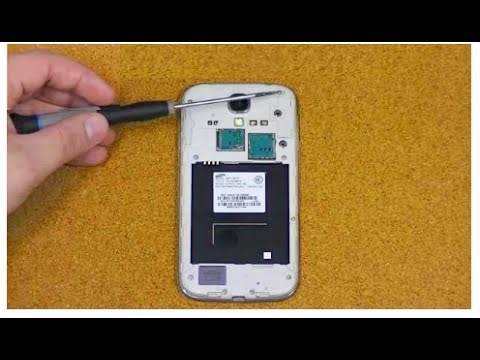 Samsung Galaxy S4 Broken Screen Repair   Teardown