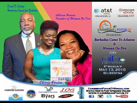 Barbados Come To   Woman on Fire Award