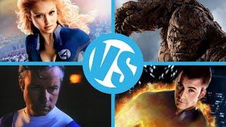 Fantastic 4(1994) VS Fantastic 4(2005) VS Rise of the Silver Surfer VS Fantastic Four(2015)