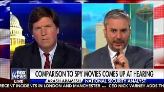 Arash Aramesh Debating Tucker Carlson on Jeff Sessions Testimony (Fox News