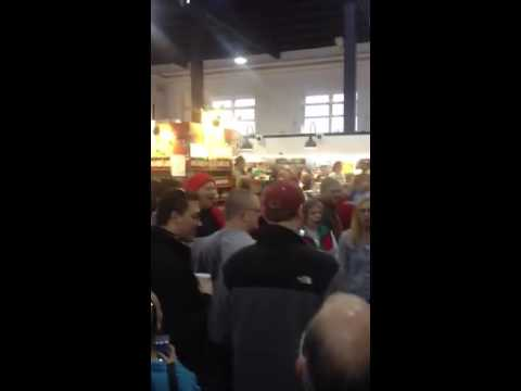 Hallelujah Chorus flash mob at Lancaster Central Market