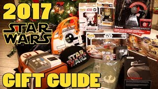 2017 Star Wars Holiday Gift Guide and HUGE GIVEAWAY!