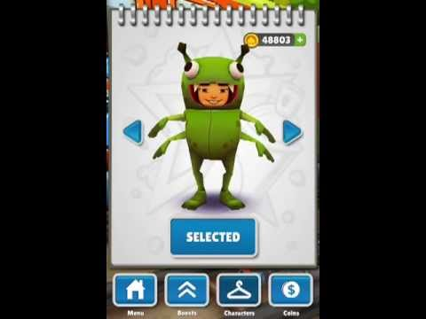 Subway Surfers - Unlock All Characters Glitch