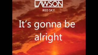Watch Lawson Red Sky video