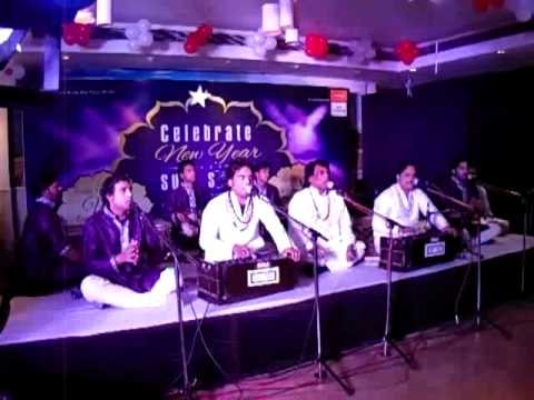 Qawwal Niazi Nizami Brothers kalam chap tilak sab on new year...