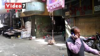 بالفيديو.. آثار دماء كلب شارع الأهرام بعد أيام من ذبحه وحبس قاتليه