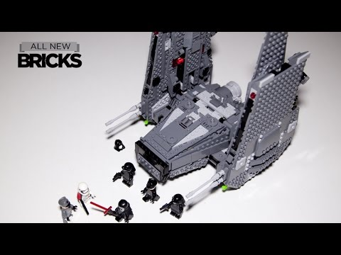Lego Star Wars 75104 Kylo Rens Command Shuttle Speed Build