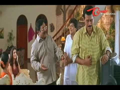 Venkatesh Feeling Nervous - Fabulous Comedy Scene