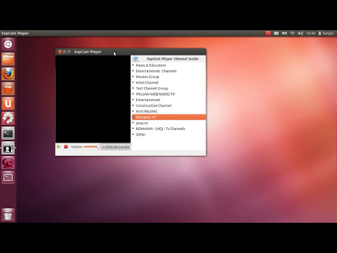 Tutorial instalare SopCast Player - Ubuntu Linux