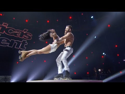 America's Got Talent 2017 Billy & Emily England Performance & Comments Judge Cuts @BillyandEmily