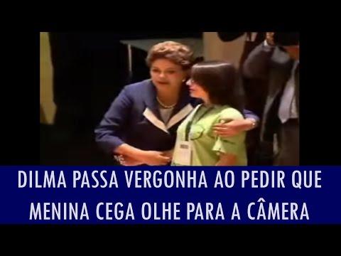 Dilma Passa Vergonha Ao Pedir Que Menina Cega Olhe Para A Câmera; Veja Vídeo video