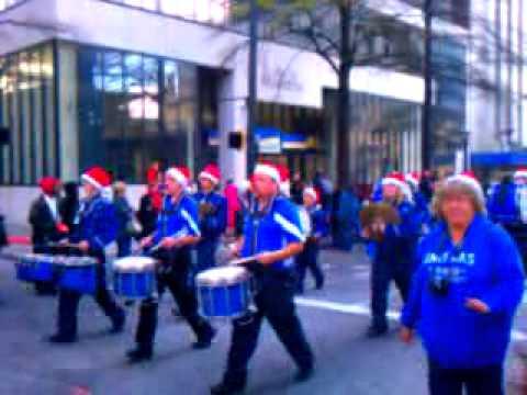 Towns County High School Marching Band- Atlanta Christmas Parade 2011