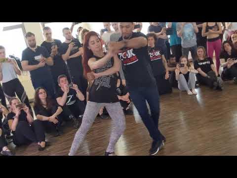Larissa & Kadu in demo at Wroclove Zouk Festival 2019 ~ Zouk Soul