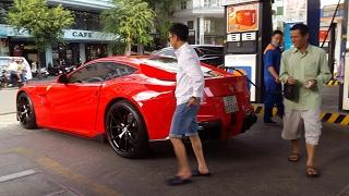 Cường Đô La Thấy Bác Bán Vé Số Khi Đang Đổ Xăng Cho Ferrari Và Cái Kết | XSX