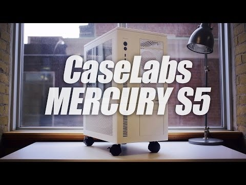 CaseLabs Mercury S5 (+Pedestal) Review & Watercooling Build