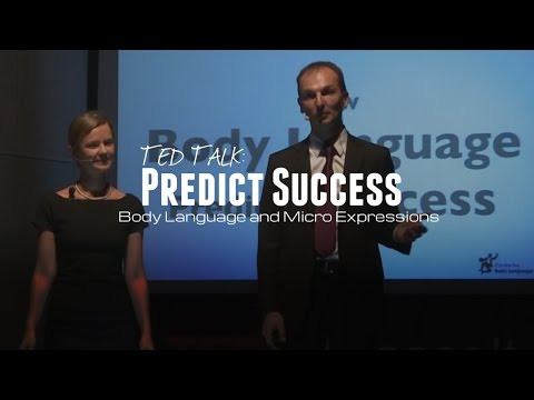 TED Talk: How Body Language and Micro Expressions Predict Success - Patryk & Kasia Wezowski