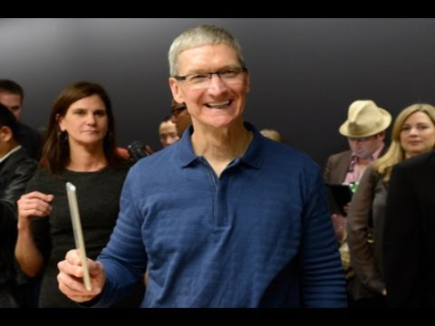 Apple's Cook Meets with Head of China Mobile